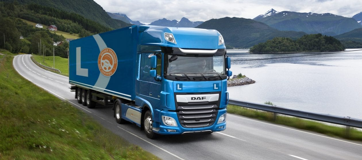 DAF chauffeurs training Les truck auto